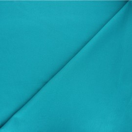 Plain milano jersey fabric - lagoon blue x 10cm