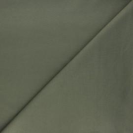 Tissu jersey milano uni - kaki x 10cm