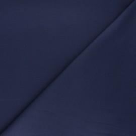 Plain milano jersey fabric - sapphire blue x 10cm