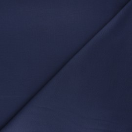 Tissu jersey milano uni - bleu saphir x 10cm