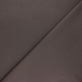 Plain milano jersey fabric - taupe brown x 10cm