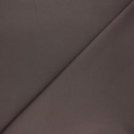 Tissu jersey milano uni - taupe x 10cm