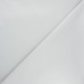 Tissu jersey milano uni - gris perle x 10cm