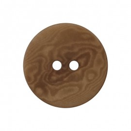 Corozo Button - light brown