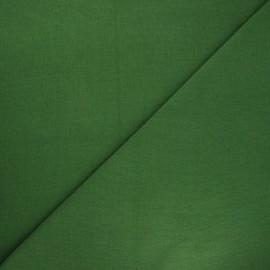 Tissu jersey tubulaire uni - vert x 10cm
