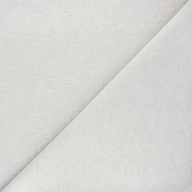 Chambray Cotton fabric - pearl grey x 10cm