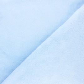 Tissu Piloudou uni - bleu clair x 10 cm