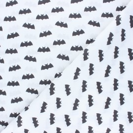 Cretonne cotton fabric - white Batman  x 10 cm