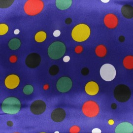 Dots Party Fabric - Purple x 10cm