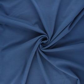 Tissu jersey milano Light - bleu houle x 10 cm