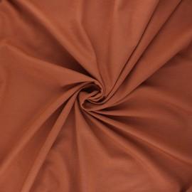 Milano jersey fabric - caramel Light x 10 cm