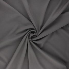 Milano jersey fabric - grey Light x 10 cm