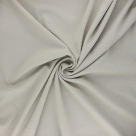 Milano jersey fabric - greige Light x 10 cm