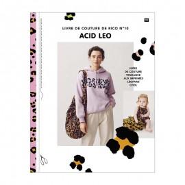 """Livre """"Le livre de couture de Rico n°10 - Acid Leo"""""""