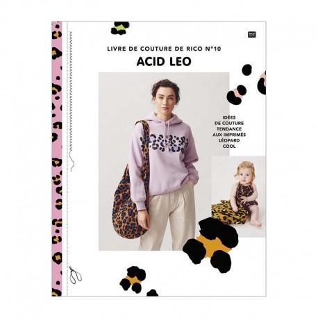 """Book """"Le livre de couture de Rico n°10 - Acid leo """""""