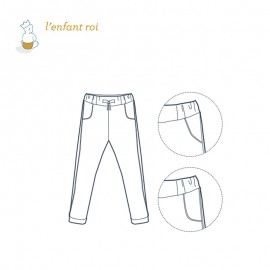 Léon 2 Jogging pants L'Enfant Roi sewing pattern - From 2 to 14 years old