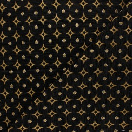Jacquard fabric - golden Bosphore x 10cm