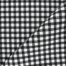 Jacquard fabric - white Conwy x 10cm