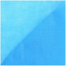 Tarlatan 100 % cotton - blue x 10cm