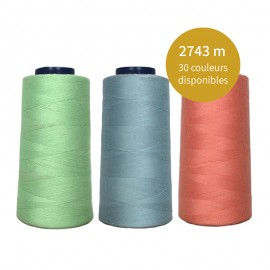 Cone of thread 2743 m - 30 colors available