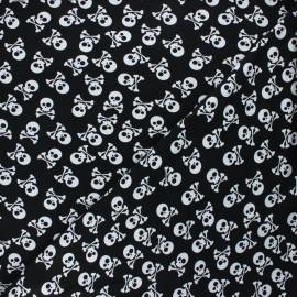 Tissu jersey Pirates en vue! - noir x 10cm