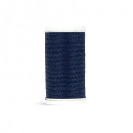 Polyester Cord Laser Sewing Thread - navy blue - 50m