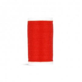 Fil à coudre Laser Cordonnet - rouge - 50m