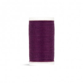 Polyester Cord Laser Sewing Thread - purple - 50m