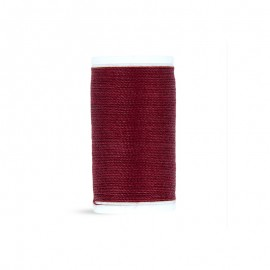 Polyester Cord Laser Sewing Thread - wine red - 50m