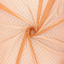 Tulle fabric - ginger Millie x 10 cm