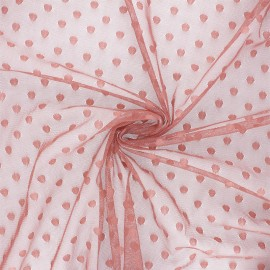 Tulle fabric - soft pink Maxi Millie x 10 cm