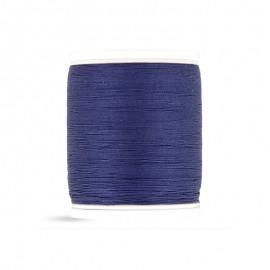 Bobine de fil Laser coton cablé 400m - bleu