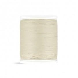 Bobine de fil Laser coton cablé 400m - beige