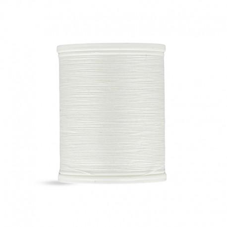 Bobine laser coton 400 m blanc