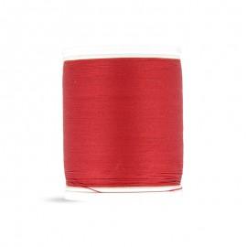 Bobine de fil Laser coton cablé 400m - rouge