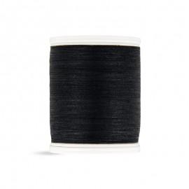 Bobine de fil Laser coton cablé 400m - noir