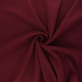 Tissu jersey milano Light - bordeaux x 10 cm