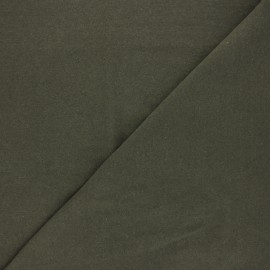 Recycled jersey Fabric - military green Unic x 10cm