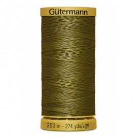 Bobine de Fil à coudre coton naturel Gutermann 250m - N°424