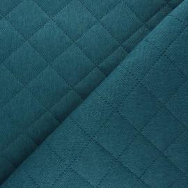 Tissu matelassé Husky - paon x 10cm