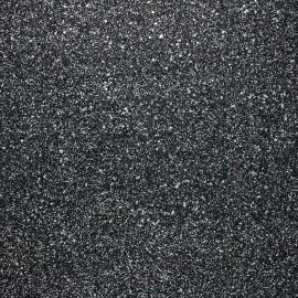 Tissu Glitter Fiesta noir/argent x 10cm