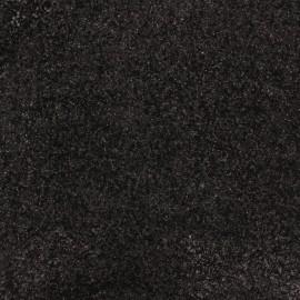 Glitter Fiesta Fabric - Silver/Black x10cm