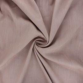 Plain elastane viscose fabric - sand x 10cm