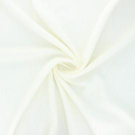 Plain elastane viscose fabric - raw x 10cm