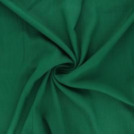 Plain elastane viscose fabric - meadow green x 10cm