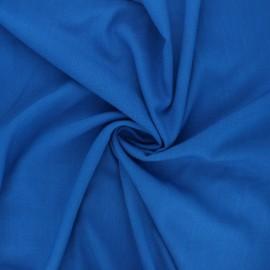 Tissu viscose élasthanne uni - bleu roi x 10cm