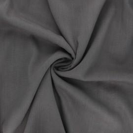 Plain elastane viscose fabric - dark taupe x 10cm