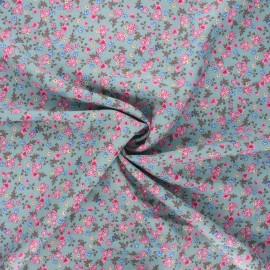 Rayon fabric - sarcelle Morada x 10cm