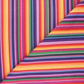 Bayadere fabric - multicolor Venezuela x 10cm