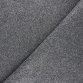 Fleece fabric - mottled grey Warm x 10cm